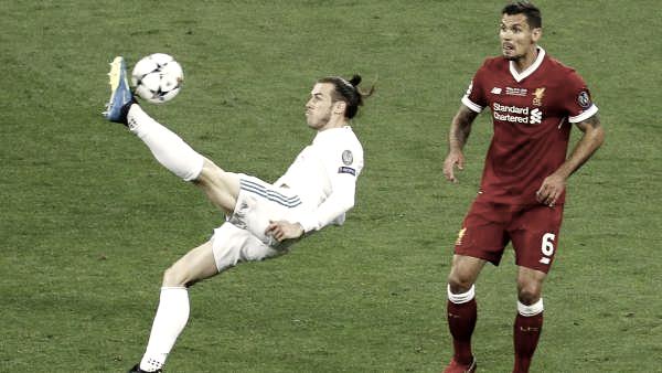 Gareth Bale realiza una chilena magnífica para poner el dos a uno   Foto: Getty Images