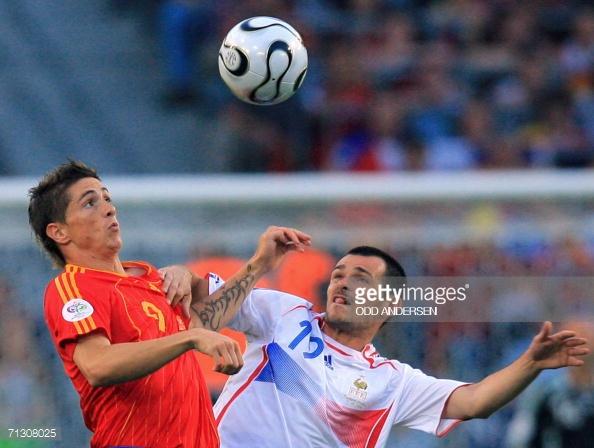 Fernando Torres en el Mundial de Alemania l Foto: Getty
