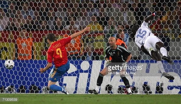 Fernando Torres contra Francia l Foto: Getty