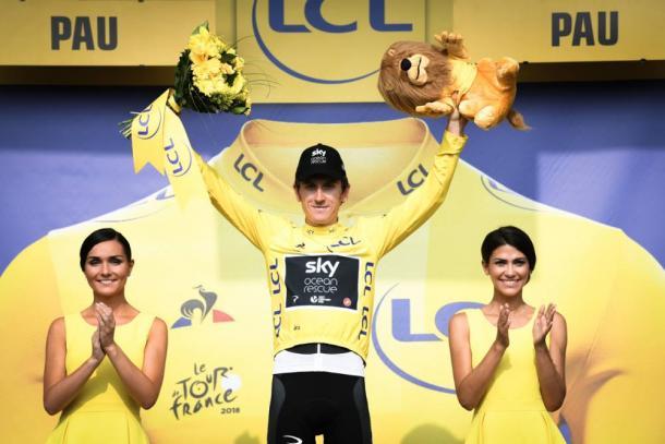 Thomas sigue vestido de amarillo  Fuente: ASO