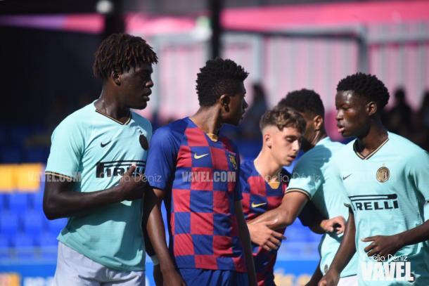 Imagen de la primera mitad del Barça - Inter   Foto: Noelia Déniz (VAVEL)