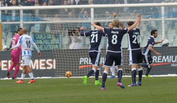Pescara-Lazio 2-6