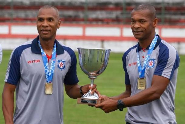 Cadão e Sérgio Gomes, dupla de longa data no Frizão. Foto: Reprodução