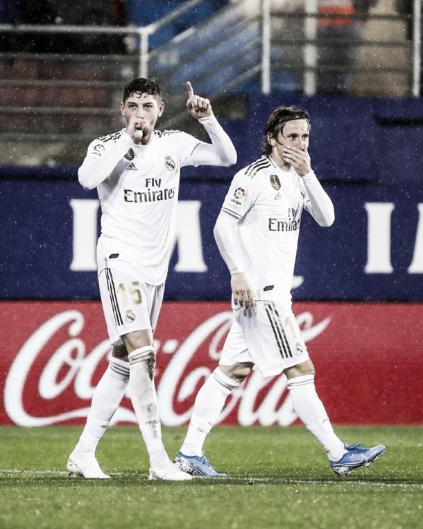 Fede Valverde y Modric vía Instagram