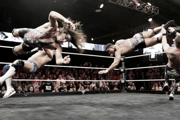 Tag team action. Photo: What Culture