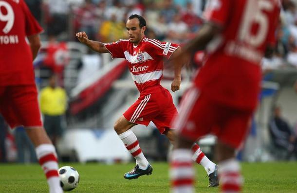 Donovan durante su cesión en el Bayern München (Imagen: listal.com)