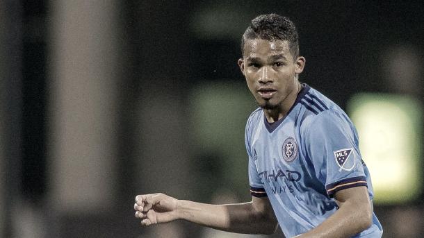 Yangel Herrera has been taken off the NYCFC injury list. | Photo: USA Today Images