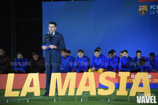 Josep Maria Bartomeu, presidente del FC Barcelona. FOTO: Noelia Déniz