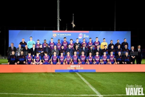 Plantilla del FC Barcelona B. FOTO: Noelia Déniz