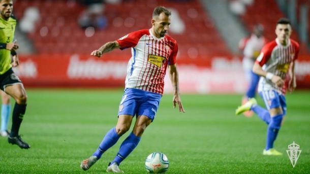 Aitor García, jugador clave para el Sporting | Fuente: Sporting de Gijón