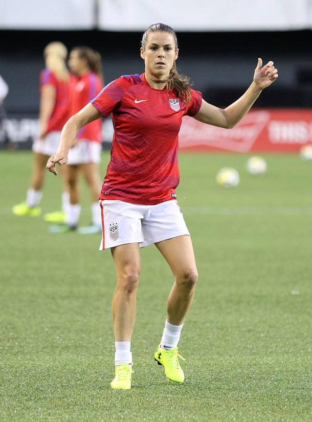 With Kelley O'Hara missing due to injury, the rest of the outside backs will have an opportunity to make an impression. | Photo: Jamie Smed
