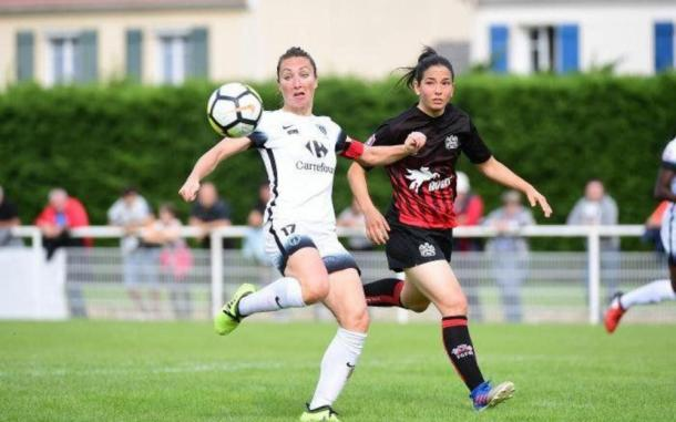 Gaëtane Thiney leads by example at Paris FC   Source: LP-Icon Sport