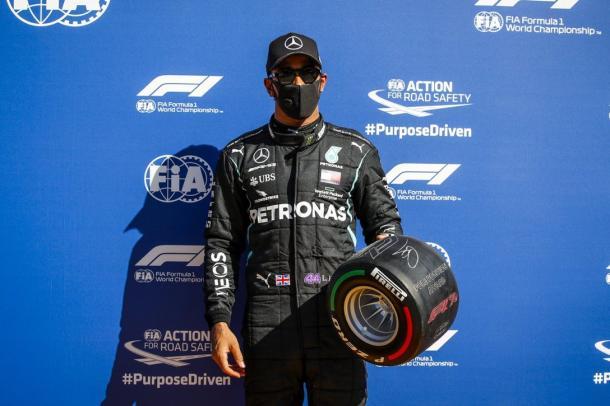 Hamilton saldrá en la `pole position´. Vía: F1