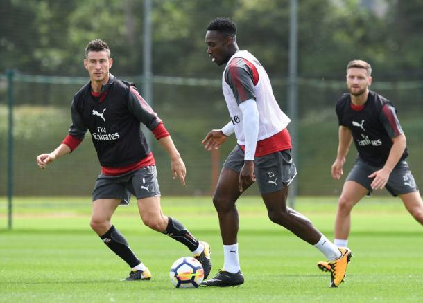 Arsenal treinou neste sábado (Foto: Divulgação / Arsenal FC)