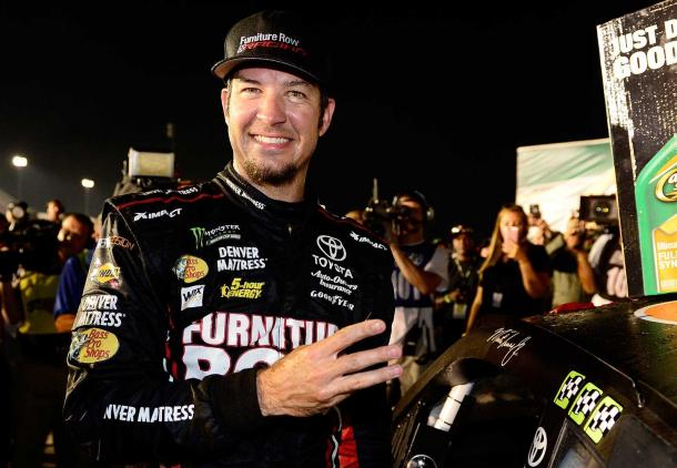 Martin Truex Jr won his third race of the season at Kentucky Last Week | Picture Credit: RFobert Laberge - Getty Images