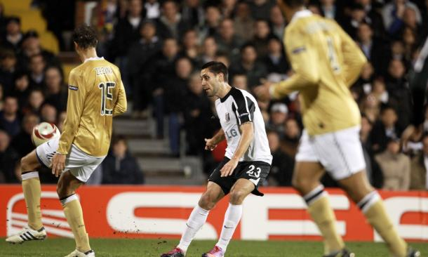 Dempsey during his time at Fulham | Source: USA TODAY