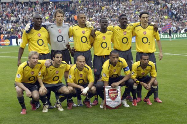Equipo titular del Arsenal en la final de Saint-Denis   Fuente: UEFA