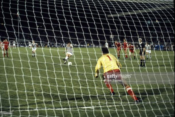 Final da UEFA Champions League 1984-85   Foto: Bob Thomas/Getty Images