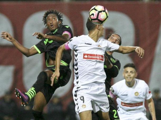 Gelson continou em destaque na equipa leonina | Foto: MaisFutebol