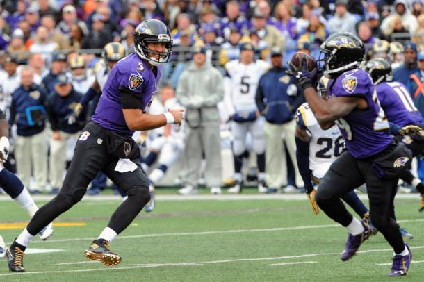 Flacco was ruled out for the back end of last season (Photo: Getty Images)