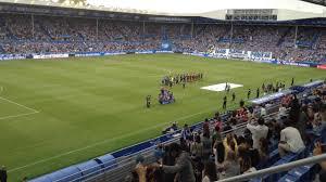 Mendizorroza, celebrando el último ascenso a Primera. Fuente: deportivo alavés