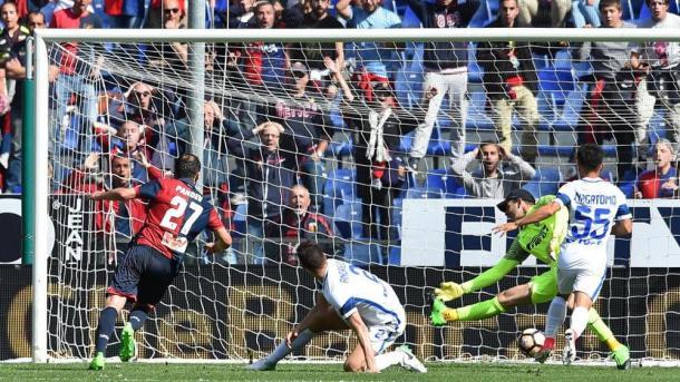 Il gol di Pandev che ha fatto traboccare il vaso. | Foto: lastampa.it