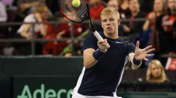 Edmund's defeat to Pospisil was his third loss in five Davis Cup matches since making his first appearance in the 2015 Davis Cup Final (l. Goffin). Photo: Getty