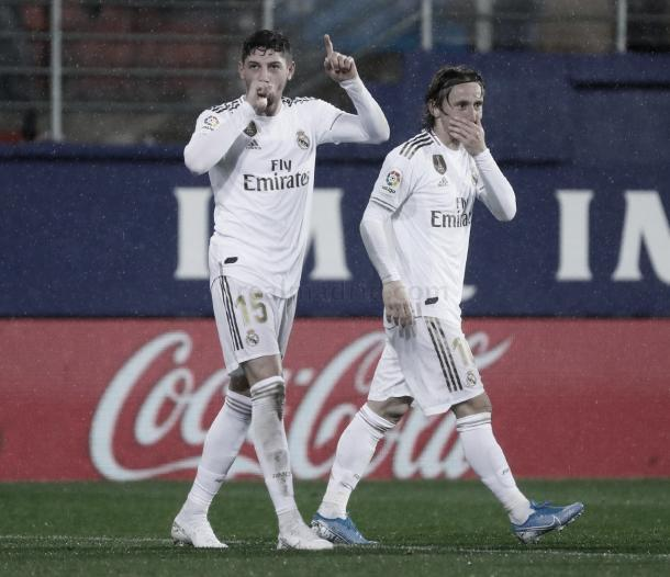 Fede Valverde, un pulmón en la medular | Foto: Real Madrid