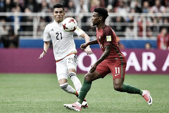 Semedo jogando por Portugal na Copa das Confederações 2017   Foto: Getty Images