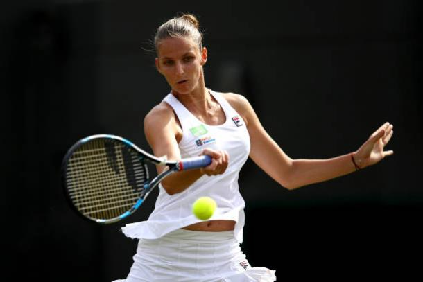 Fans will be able to watch players such as world number one Karolina Pliskova (Getty/Julian Finney)
