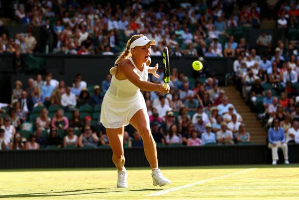 It will be interesting to see how Caroline Wozniacki approaches this match (Getty/Michael Steele)
