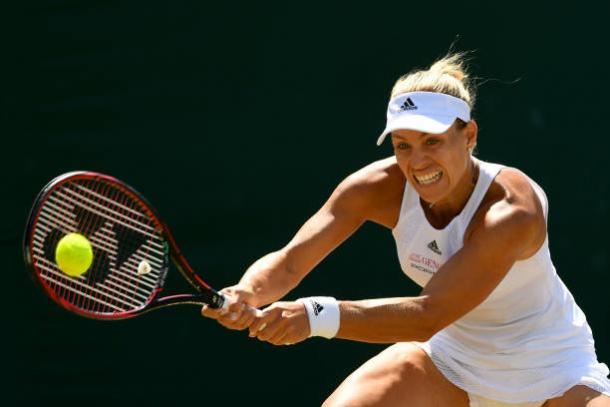 Angelique Kerber will need to defend well against an aggressive opponent (Getty/Shaun Botterill)