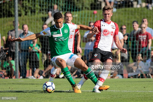 Southampton couldn't find a way past St Gallen. Photo: Getty.