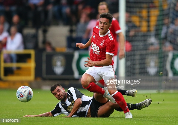 Zach Clough could be a key player for Forest this season. (picture: Getty Images / Alex Livesey)