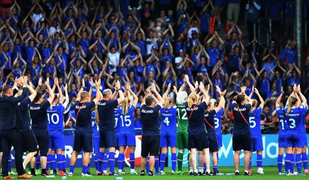 Iceland have been eliminated from the competition. Source   UEFA
