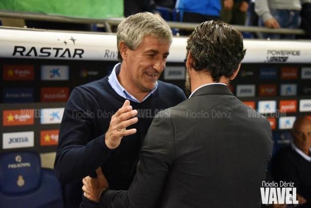 Quique Setién, uno de los grandes nombres de la Liga en las últimas temporadas. FOTO: Noelia Déniz