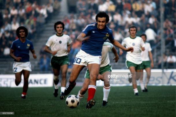 França na Copa de 1978   Foto: Michel Barrault