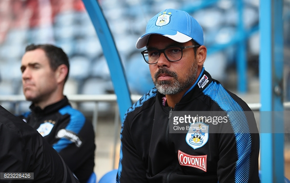 David Wagner in pre-season. (Photo: Clive Brunskill/Getty)