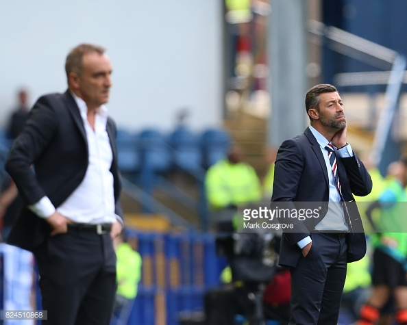 Caixinha came up against fellow Portuguese manager Carlos Carvalhal on Sunday. (picture: Getty Images / Mark Cosgrove)