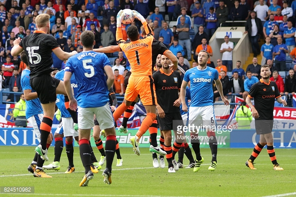 Caixinha named a strong Rangers starting line-up at Hillsborough. (picture: Getty Images / Mark Cosgrove)
