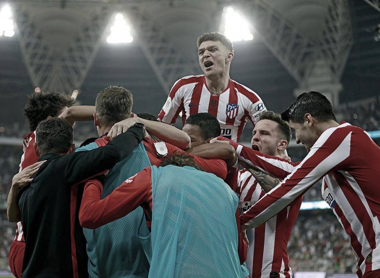 Última victoria frente al FC Barcelona. / Facebook: Atlético de Madrid oficial