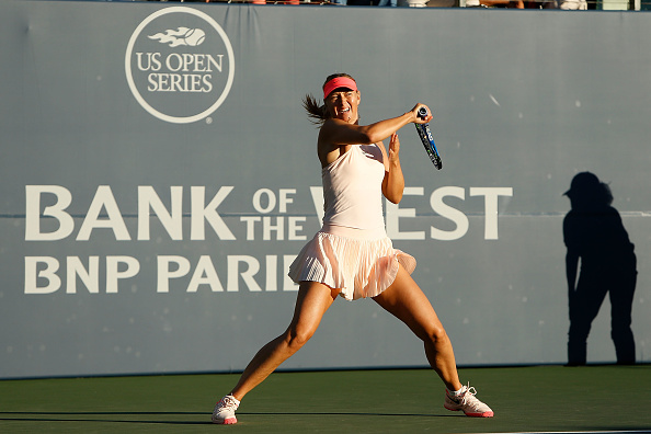 Maria Sharapova only played one match prior the US Open due to an arm injury. (Getty Images/Lachlan Cunningham)