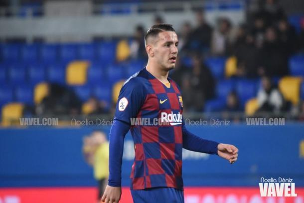 Rey Manaj, nuevo jugador del Barça B. FOTO: Noelia Déniz