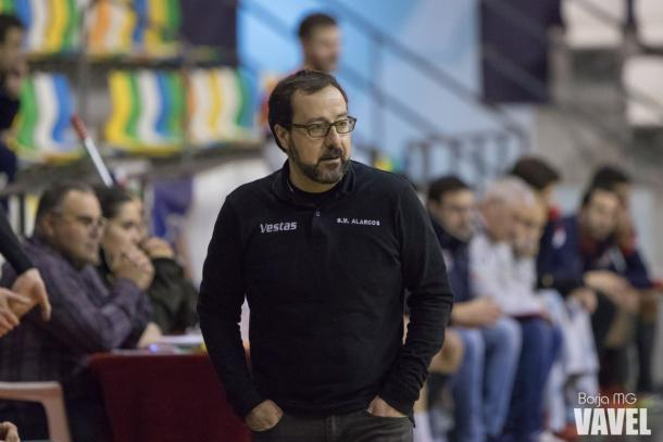 Javi Márquez no quiere pensar más allá del domingo. | Foto: Borja Martínez García (VAVEL España)