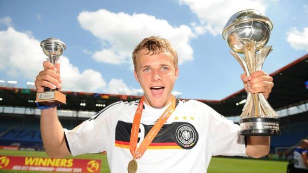 Lennart Thy de gran 2009, goleador de Alemania y Werder Bremen en juveniles | Foto: Getty