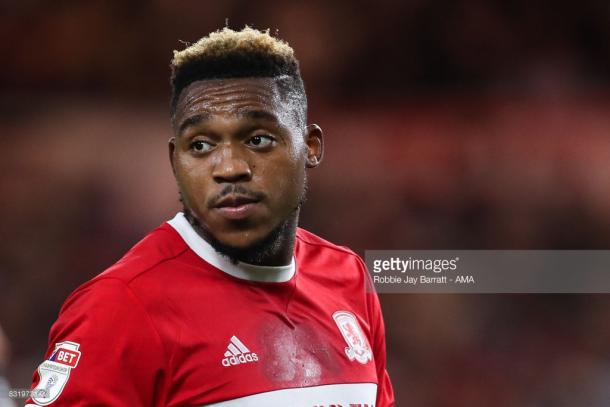 Assombalonga returns to The City Ground this weekend. (picture: Getty Images / Robbie Jay Barratt - AMA)