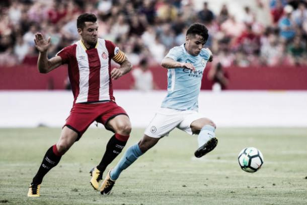 Amistoso entre Girona e Manchester City em 2017 | Foto: NurPhoto/Getty Images