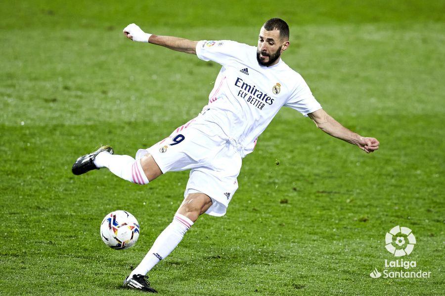 Benzema, otro de los goleadores. Foto: La Liga.