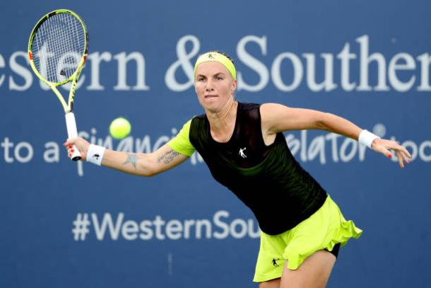 Svetlana Kuznetsova in Cincinnati (Getty/Matthew Stockman)