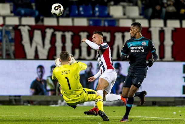 Willem II-PSV 0-0 | Foto: tuttocalcioestero.it